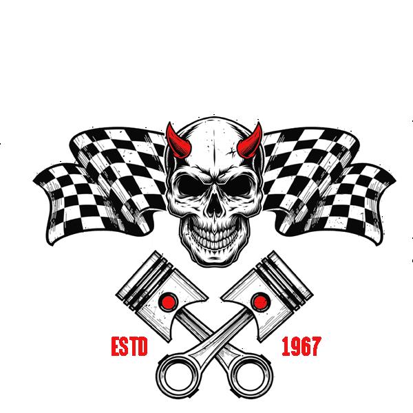 Boneyard Racers Skull Logo